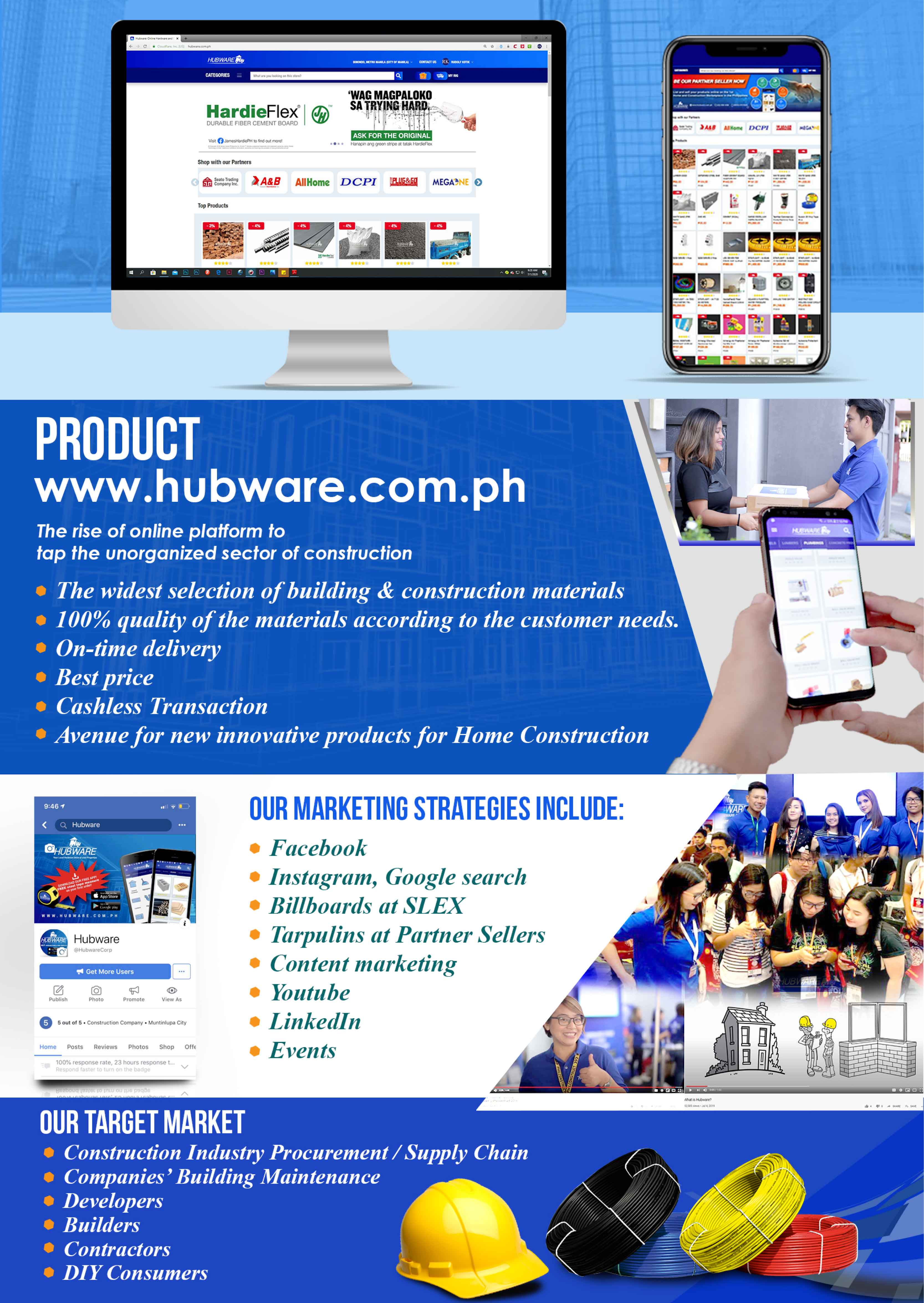 hubware - products & services