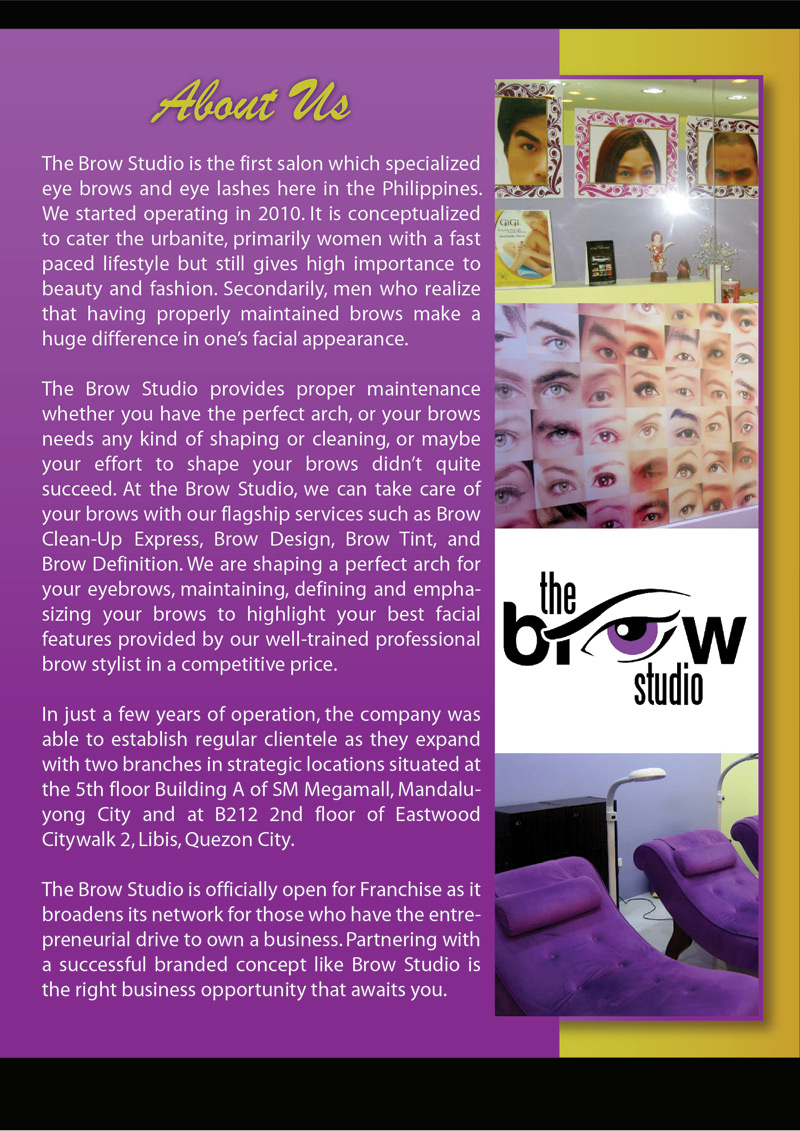the brow studio - aboutus