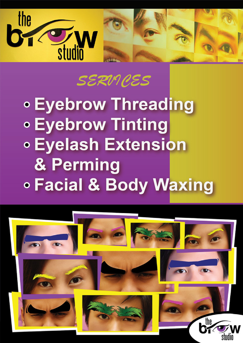 the brow studio - services